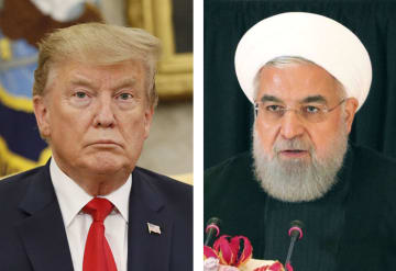 トランプ米大統領、イランのロウハニ大統領