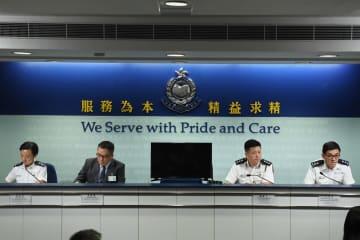 条例改正騒動、逮捕者1183人に 香港警察