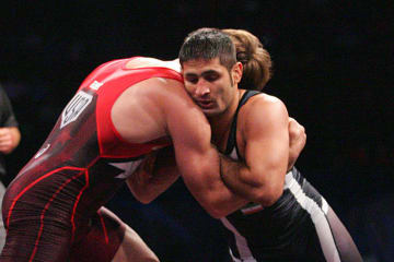 66kg級で世界王者に輝いたサエイド・ムラド・アブデュバリ(イラン)。82kg級でも世界一を射程距離へ