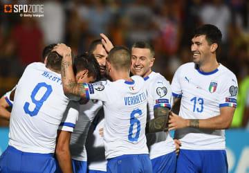 イタリアが逆転勝利で怒涛の5連勝