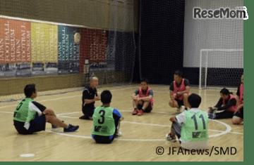 小学校体育サポート研修会 (c) JFAnews/SMD