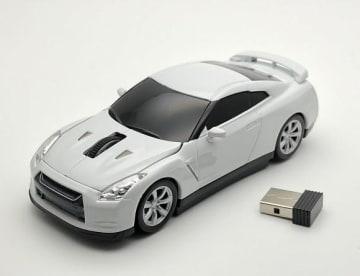 人気のNissan GT-R R35が無線マウスに!