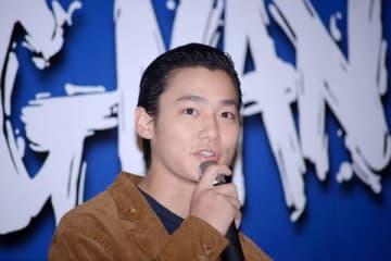 主演映画「WALKING MAN」の完成披露イベントに登場した野村周平さん
