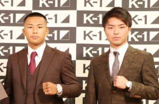 再戦を誓った江川(左)と西京(右)