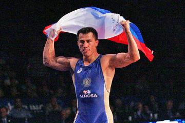 オリンピック3連覇を目指すロマン・ブラソフ(ロシア)