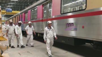 中国製地下鉄車両、インドのナビムンバイで走行試験に成功