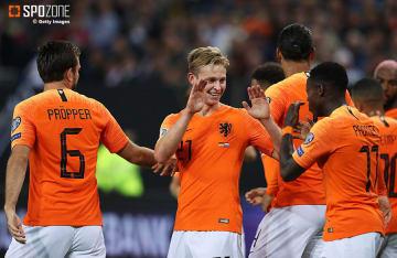 オランダが打ち合い制しドイツにリベンジ達成