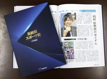長崎新聞社が発行した「長崎県スポーツ史 平成版」