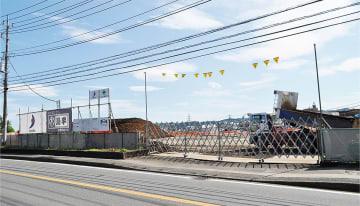 建設が進む職業技術校跡地