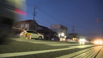 事故があった高砂市の県道交差点