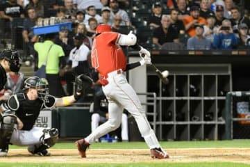 久々となる17号本塁打を放ったエンゼルス・大谷翔平【写真:Getty Images】