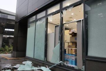 時事通信 2018年、大阪合同庁舎4号館の窓ガラス
