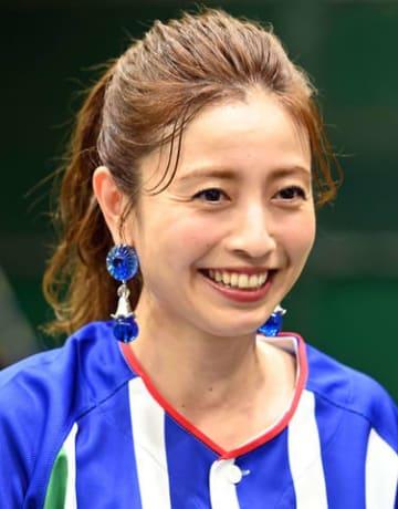 「『横浜トヨペット アルファード☆ナイター』始球式2019」に登場した片瀬那奈さん