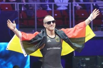 オリンピック階級での世界一を目指すフランク・スタエブラー(ドイツ)