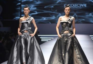 中国(青島)国際ファッションウィーク開幕 山東省青島市