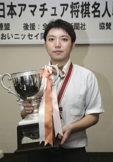 将棋で初のアマ名人になった中川慧梧(なかがわ・けいご)さん