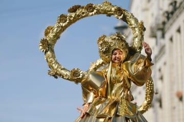 モスクワの創建を祝う「モスクワの日」開催
