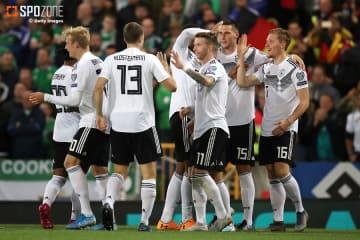 北アイルランド下しドイツが首位浮上