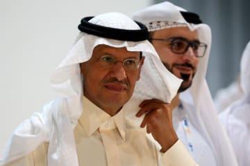 サウジアラビアのアブドルアジズ・エネルギー相=9日(ロイター=共同)