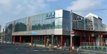 三沢駅前の新たな拠点となる複合施設の外観