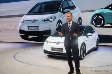 VW ID.3(フランクフルトモーターショー2019、VWプレビュー)