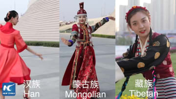 中国各民族の伝統的踊り