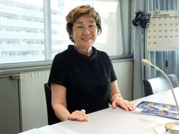安藝榮子さん(写真:ラジオ関西『三上公也の朝は恋人』)