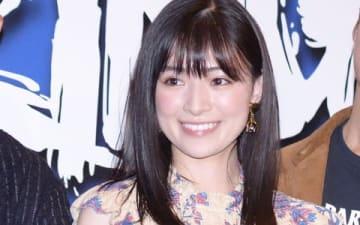 映画「WALKING MAN」の完成披露イベントに登場した優希美青さん