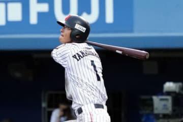 日米大学野球で侍ジャパン大学代表にも選出されていた慶大・柳町達【写真:Getty Images】