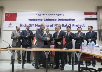中国が支援するエジプト2号衛星プロジェクト、カイロで始動