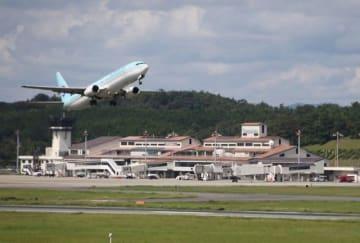 利用者が3500万人を突破した岡山桃太郎空港。14日から記念イベントが展開される