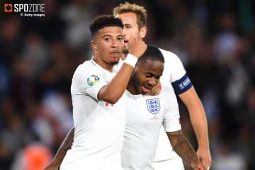 サンチョのA代表初ゴールなどでイングランドが4連勝