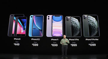 ヒットした「iPhone 8」以来、名称に数字が入った「iPhone 11」は699ドルから