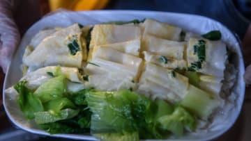 地方の有名小吃「簸箕粉」 広西チワン族自治区欽州市