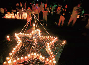 手作りキャンドルの光が美しい「キャンドルナイト in 港南台2019 年も開催!