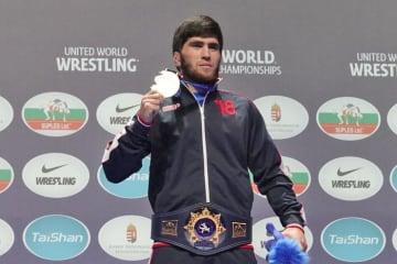 2年連続優勝を目指すザウール・ウグエフ(ロシア)