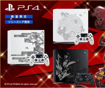 『ペルソナ5 ザ・ロイヤル』×PS4/PS4 Proコラボ刻印モデル発売決定!受注受付もスタート
