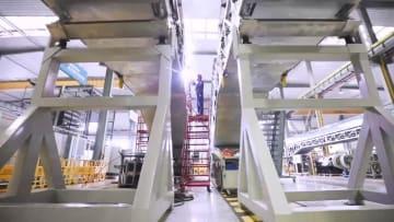 上昇高度42メートル、中国最高高度の高速鉄道駅用エスカレーター生産完成
