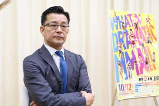 榊原CEOが10月大阪大会の構想を「総力戦」と語る