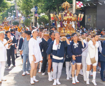 4年ぶりの連合渡御へ「お三の宮」日枝神社例大祭【9月13日~15日】@南区