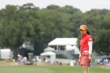 天本遥香が2位で第2次予選にコマを進めた(写真は全米女子オープン)(撮影:ALBA)