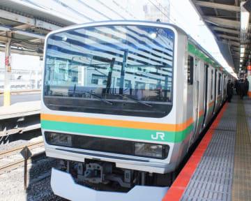 運転を見合わせていたJR東海道線