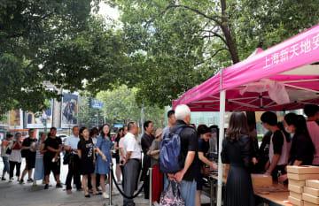 中秋節を前に「鮮肉月餅」の販売たけなわ 上海市