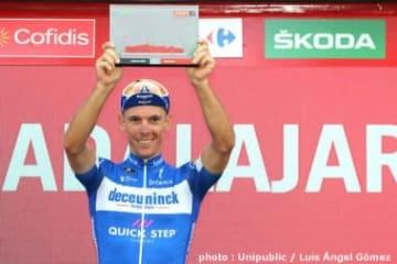 ブエルタ第17ステージで区間優勝したジルベール (photo : Unipublic / Luis Ángel Gómez)
