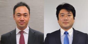 鈴木馨祐氏(左)と山本朋広氏