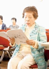 めだかの学校で元気に活動している稲船さん
