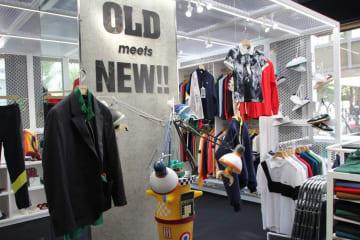 古着と新作が入り混じる「OLD meets NEW」