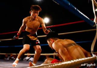 内藤のび太の実弟・内藤頌貴(左)がONE WARRIOR SERIESに参戦