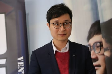 Ventus Lau barred from standing in March by-election for supporting Hong Kong independence in a Facebook post. Photo: inmediahk.net.