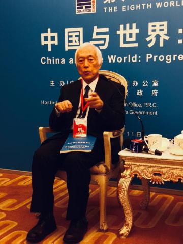 著名歴史学者の濱下武志氏、「世界中国学貢献賞」を受賞 上海市